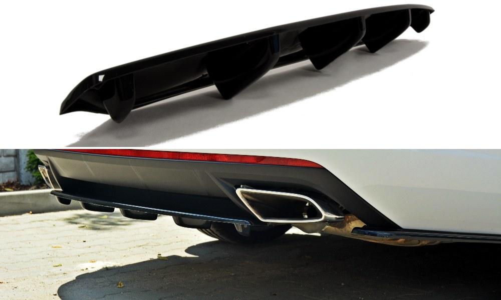 Splitter Tylny Środkowy Skoda Octavia III RS Polift - GRUBYGARAGE - Sklep Tuningowy